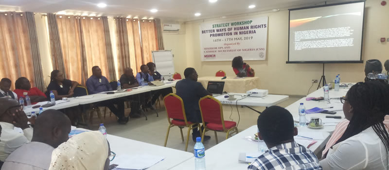 Strategy Workshop on Better Ways of Human Rights Promotion in Nigeria