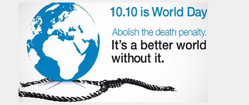 Stop Crime, Not Lives – HURILAWS Press Statement in Commemoration of October 10 – World Day against the Death Penalty